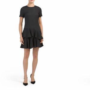 Rebecca Taylor Pucker Jaquard Dress. Size 0. NWT.
